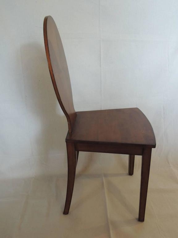 Vintage Maitland Smith Wood Hall Chair At 1stdibs
