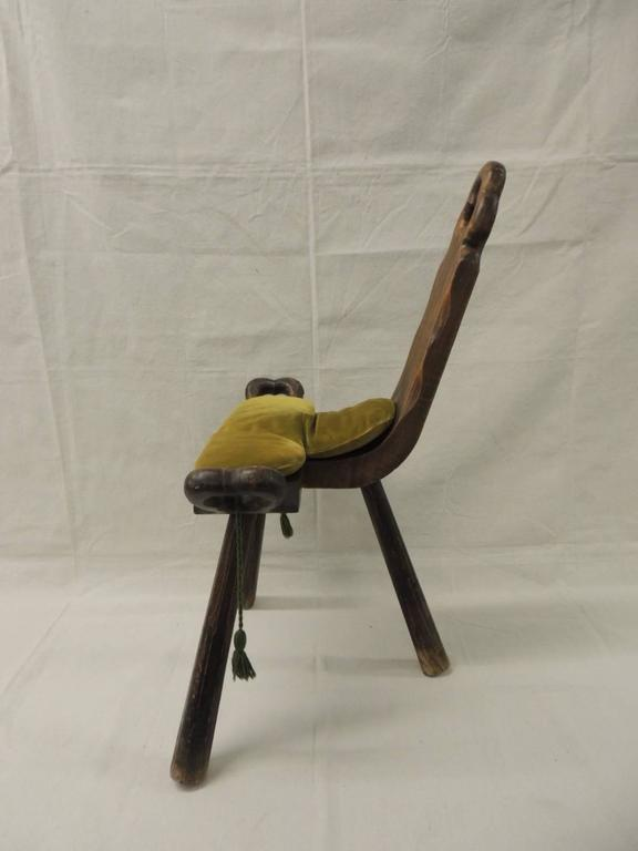 Vintage Primitive African Birthing Chair At 1stdibs