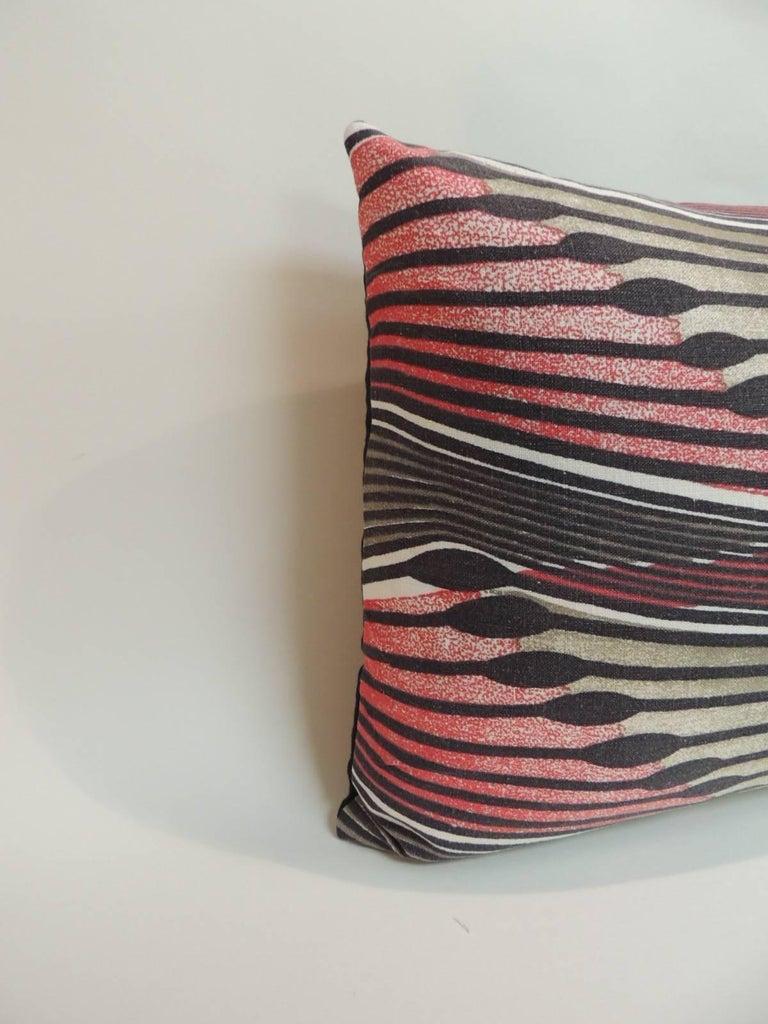 Modern Decorative Lumbar Pillows : Pair of Vintage Modern Swedish Decorative Lumbar Pillows For Sale at 1stdibs