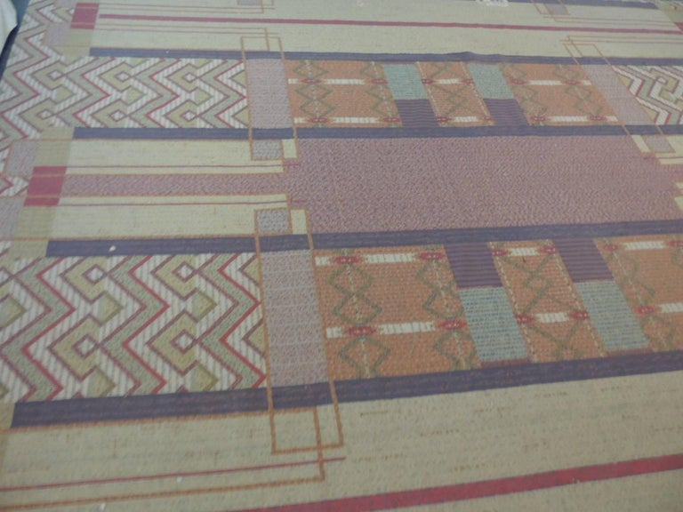 Frank Lloyd Wright Arts And Crafts Inspired Rug Made By