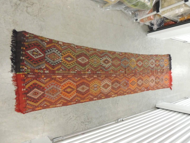 19th Century Handwoven Wall Hanging Textile 3