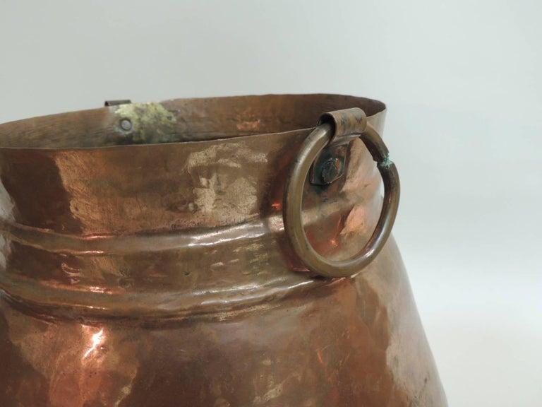 Moorish Vintage Set of Indian Polished Copper Decorative Vessels For Sale