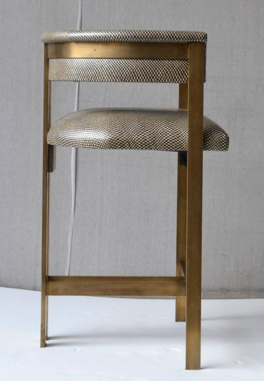 Set Of Four Elliott Bar Stool By Kelly Wearstler At 1stdibs