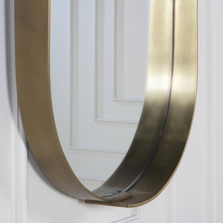 Contemporary Alta Racetrack Mirror by Kelly Wearstler For Sale
