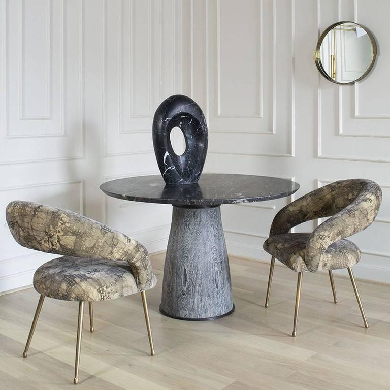 Marble Camden Table by Kelly Wearstler For Sale