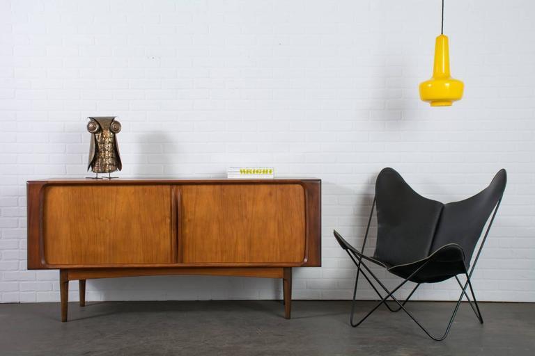 Jacob E. Bang Yellow 'Kreta' Pendant Lamp, Denmark, 1960s 3