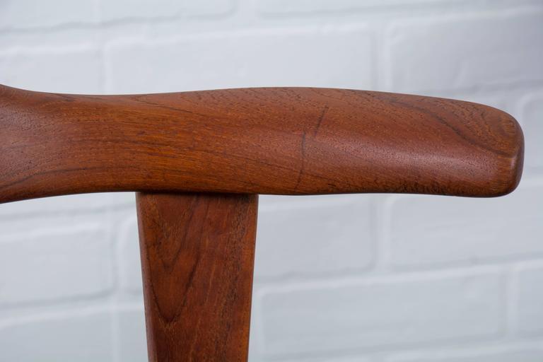Six Danish Modern Teak Dining Chairs By Harry Ostergaard
