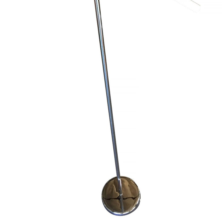 Robert Sonneman Style Chrome Floor Lamp 6