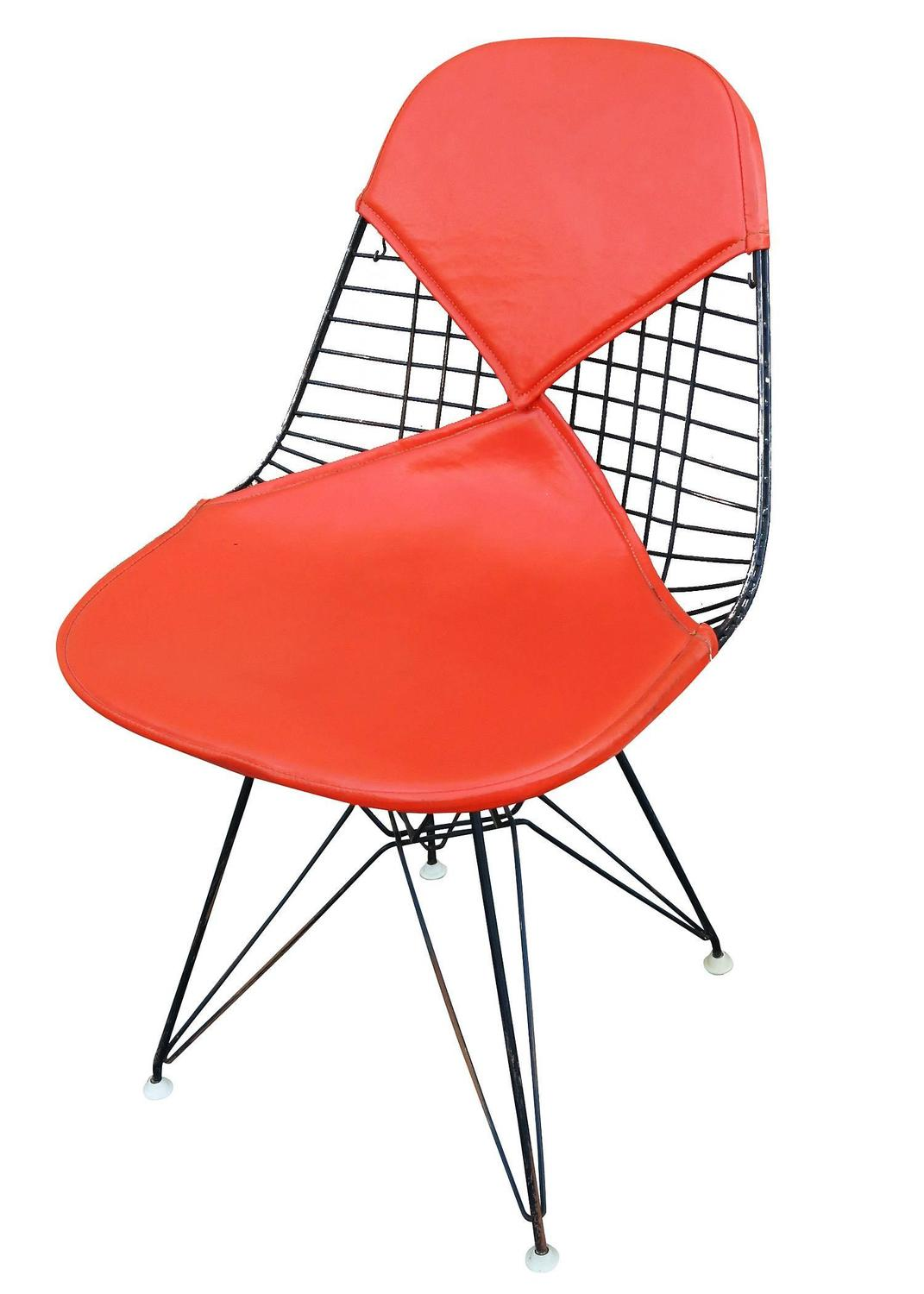 Set Of Three Herman Miller Eames DKR Bikini Chairs For