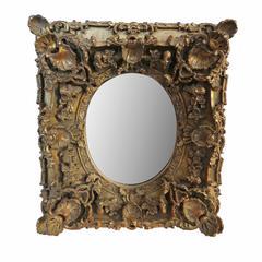 Vintage Rococo Vanity Wall Mirror