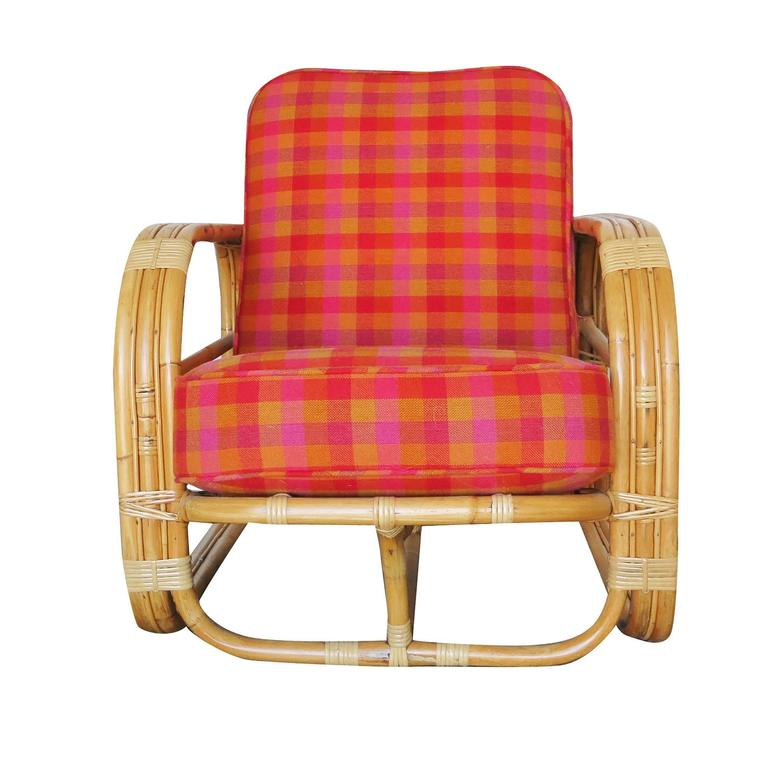 Restored Streamline Art Deco Rattan Living Room Set For Sale At 1stdibs