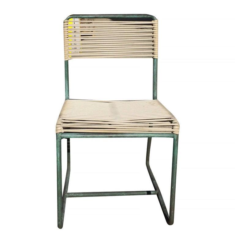 Walter Lamb Brown Jordan Outdoor Patio Bronze Chairs Set Of 3 For