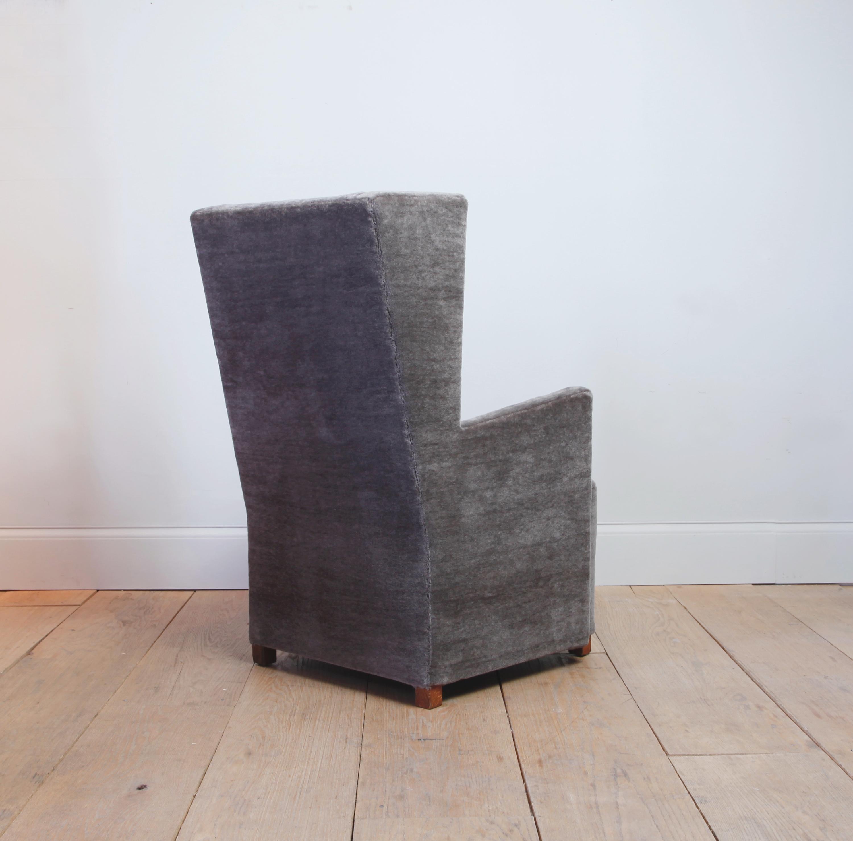 Stained Rare Uno Åhrén And Björn Trägådh Easy Chair For Sale