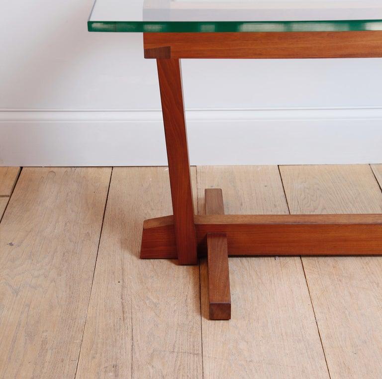 American Craftsman American Studio Craft Nakashima Style Writing Table For Sale