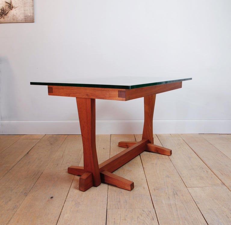 20th Century American Studio Craft Nakashima Style Writing Table For Sale