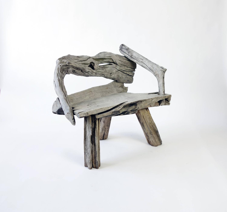 Swedish Driftwood Chair At 1stdibs