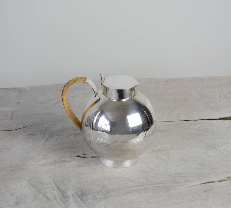 Swedish Silver Decanter by Sylvia Stave For Sale