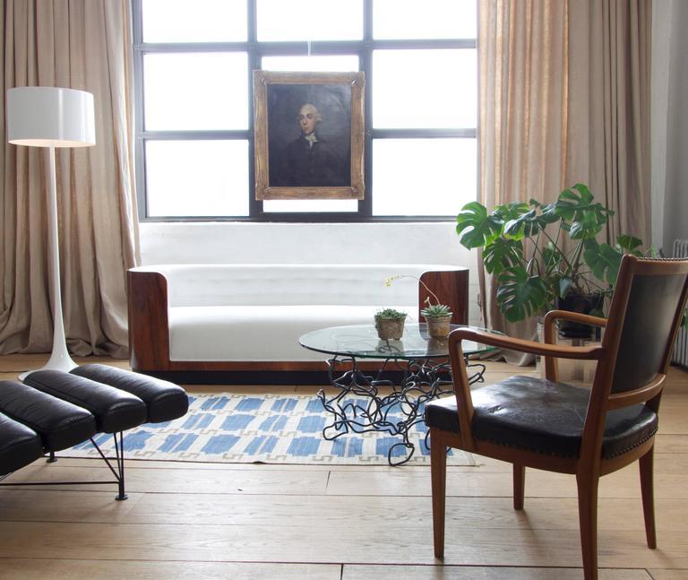 Danish Art Deco Rosewood Sofa 2