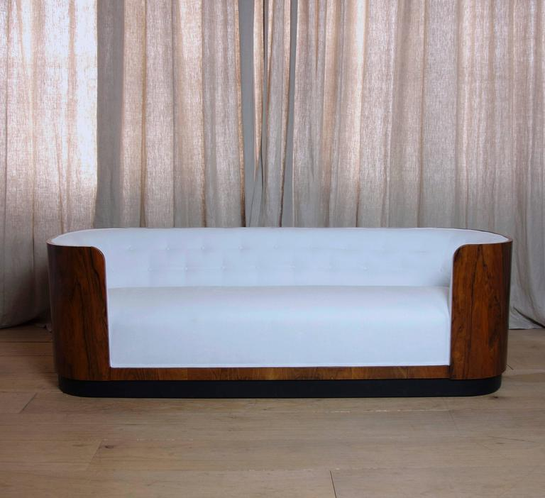 Danish Art Deco Rosewood Sofa 3