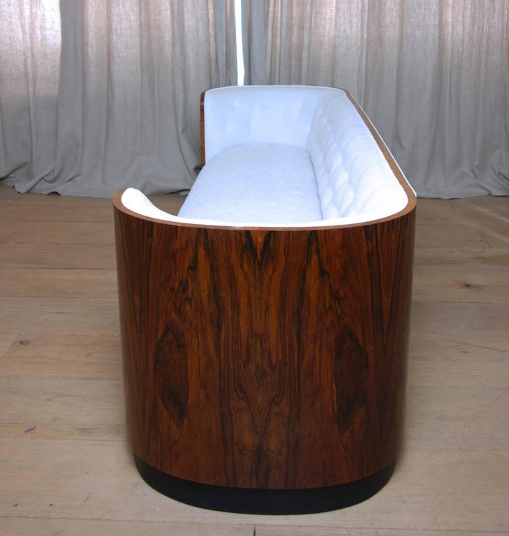 Danish Art Deco Rosewood Sofa 4