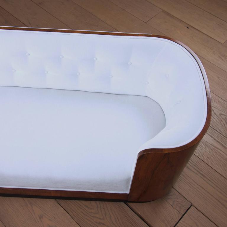 Danish Art Deco Rosewood Sofa 5