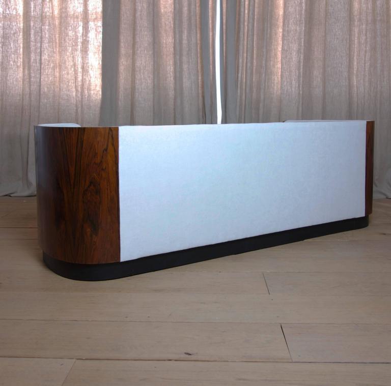Danish Art Deco Rosewood Sofa 6