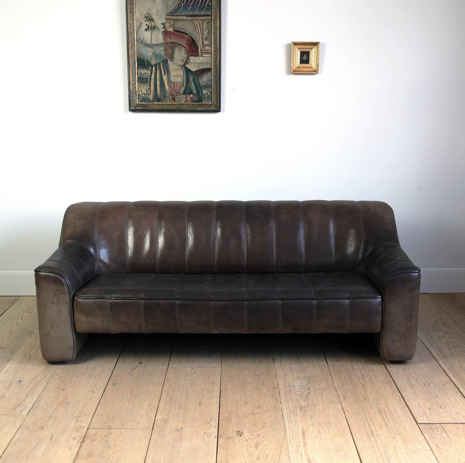 vintage de sede sofa at 1stdibs. Black Bedroom Furniture Sets. Home Design Ideas