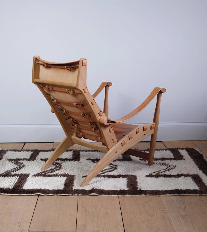 Scandinavian Modern Mogens Voltelen Copenhagen Lounge Chair For Sale