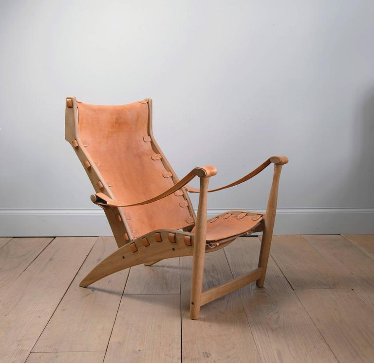 Danish Mogens Voltelen Copenhagen Lounge Chair For Sale