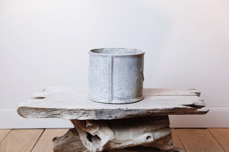 English Neoclassical Lead Planter For Sale