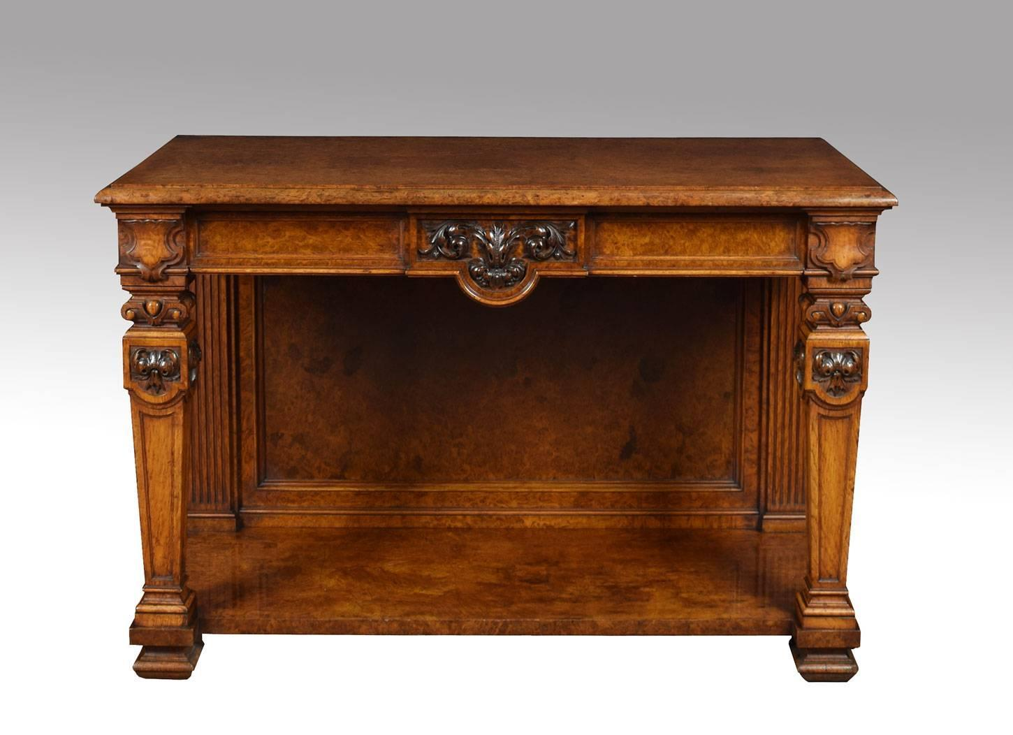 Pollard Oak Console Table At 1stdibs. Full resolution  photo, nominally Width 1450 Height 1052 pixels, photo with #713612.