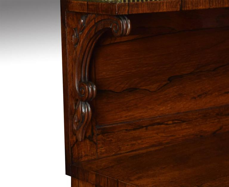 Regency Rosewood Two-Door Chiffonier 4