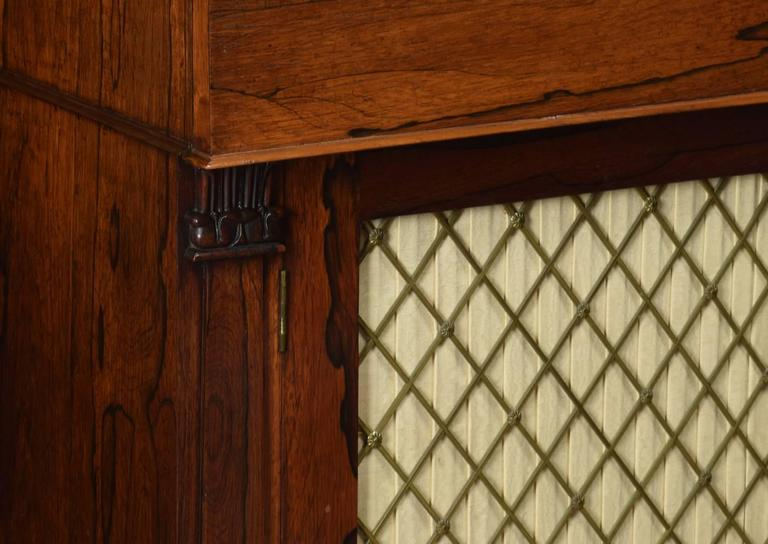Regency Rosewood Two-Door Chiffonier 5