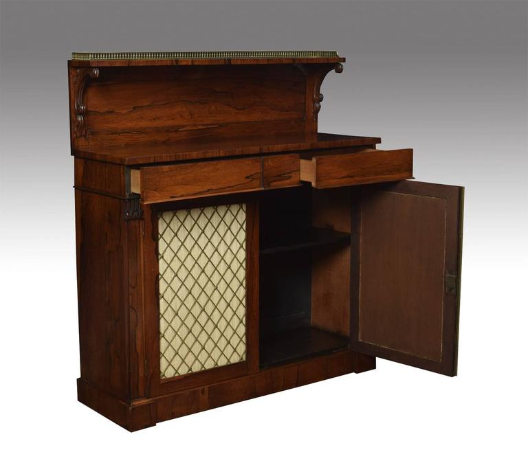 Regency Rosewood Two-Door Chiffonier 2