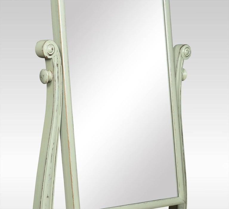 Regency Painted Cheval Mirror 4