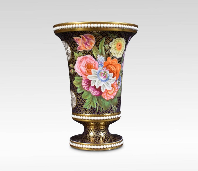 Regency Period Spode Porcelain Spill Vase In Excellent Condition For Sale In Cheshire, GB