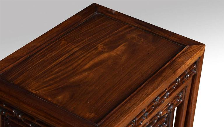 Chinese nest of four tables at 1stdibs chinese nest of four tables in excellent condition for sale in cheshire gb watchthetrailerfo