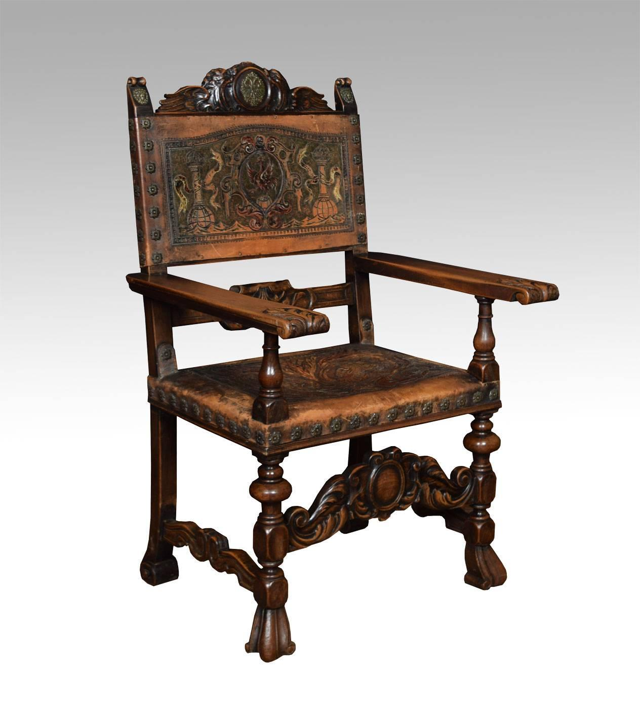 Set of fourteen baroque style walnut dining chairs at 1stdibs for Baroque dining furniture