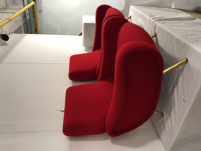 """Pair of """"Lady"""" Armchairs by Marco Zanuso for Arflex 2"""