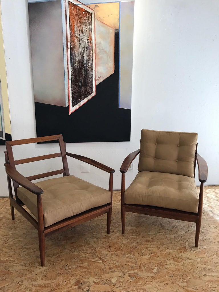 Mid-20th Century 1960s Brazilian Armchairs For Sale