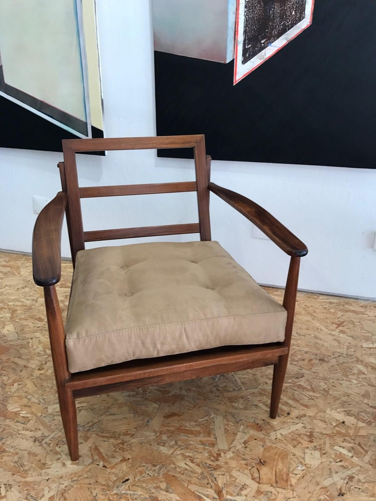 Wood 1960s Brazilian Armchairs For Sale