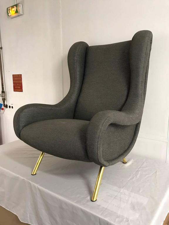 Senior armchair by Marco Zanuso for Arflex.