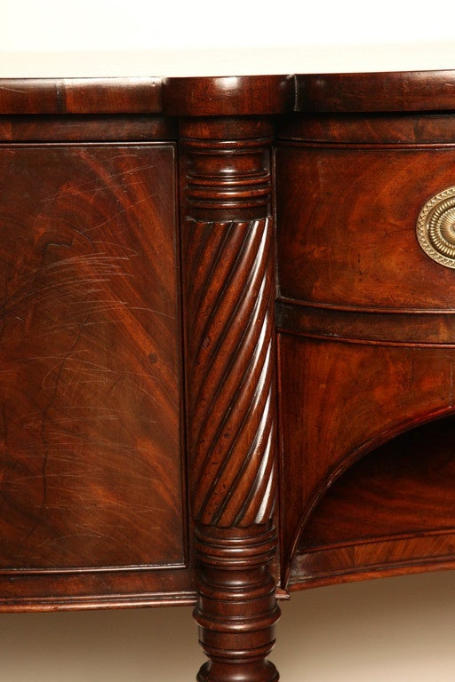 Early 19th Century Irish Regency Mahogany Serving Table, circa 1820 In Excellent Condition For Sale In New York, NY
