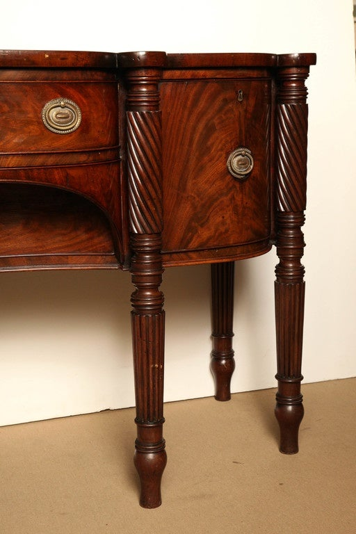 Early 19th Century Irish Regency Mahogany Serving Table, circa 1820 For Sale 2
