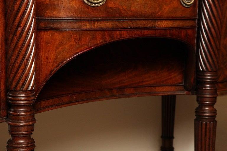 Early 19th Century Irish Regency Mahogany Serving Table, circa 1820 For Sale 7