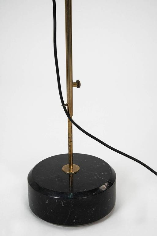Quotlte3quot extendable floor lamp by ignazio gardella for for Milan floor lamp antique brass 165cm