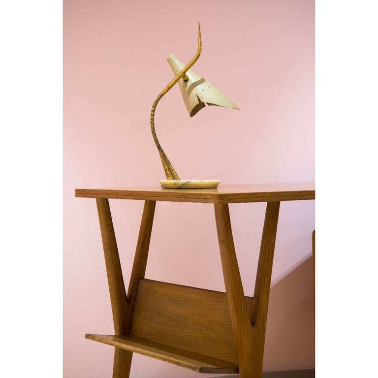 Adjustable Organic Table Lamp by Lumen, 1950s For Sale at 1stdibs