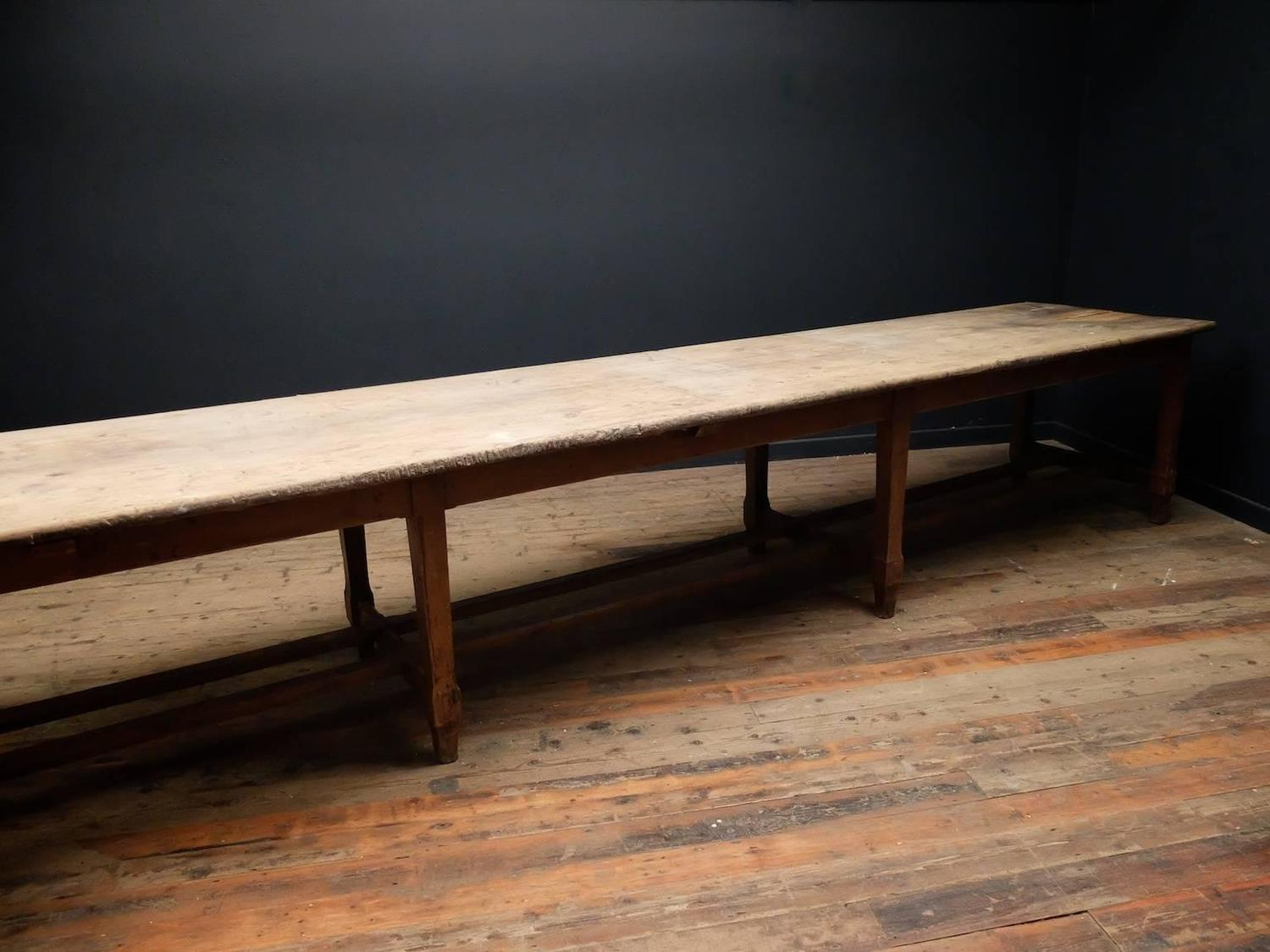 Huge Kitchen Prep Table at 1stdibs