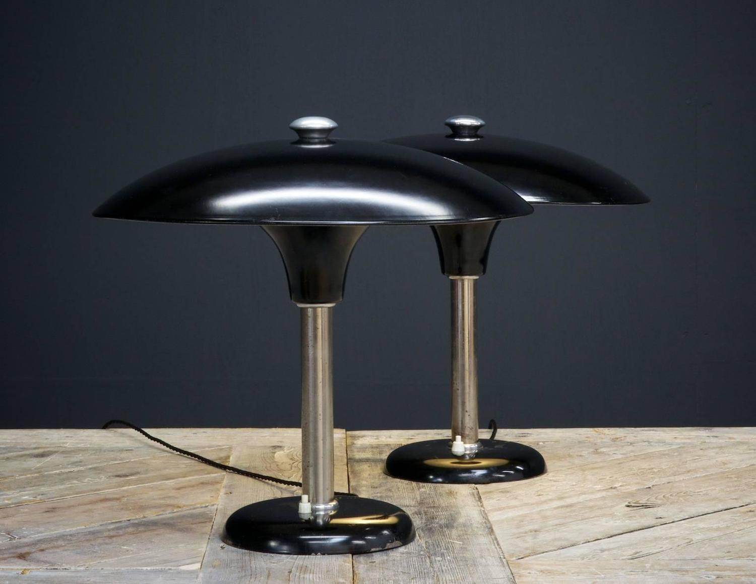 Schroeder Table Lamps at 1stdibs