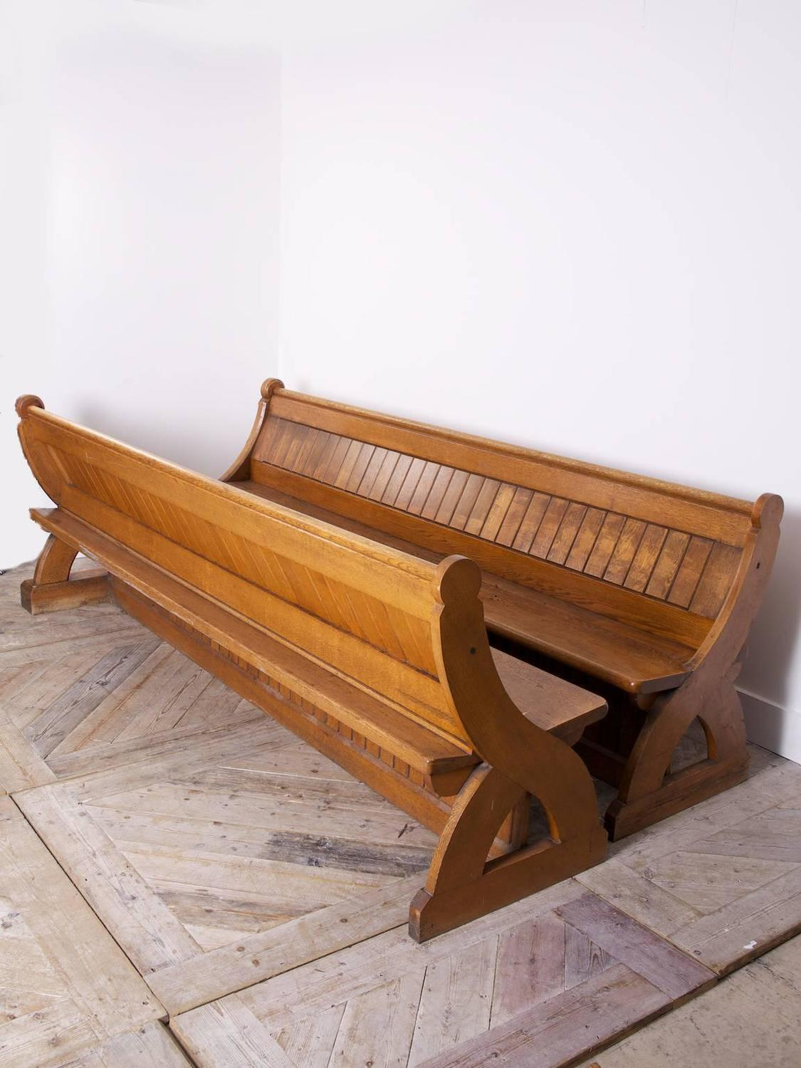 Oak Church Pews For Sale At 1stdibs